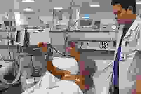 Bệnh nhân nhồi máu não thoát bị liệt nhờ phương pháp tiêu sợi huyết