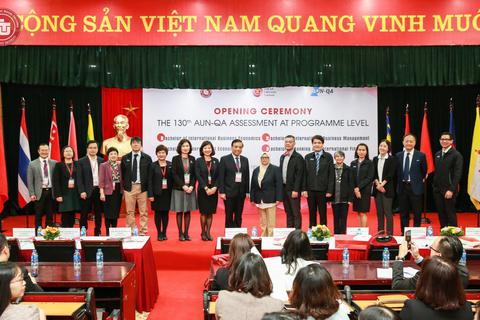 AUN - QA kiểm định 4 chương trình dạy bằng tiếng Anh của trường ĐH Ngoại thương