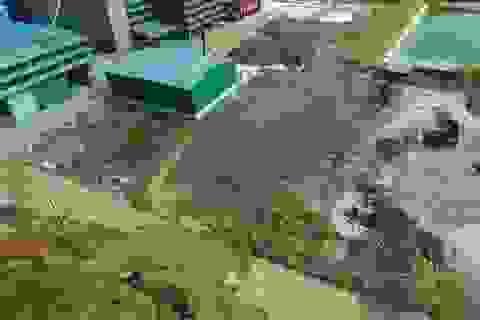 Vụ dân chặn xe nghi chở hóa chất độc hại: Chạy thử nghiệm rồi mới xin vận hành