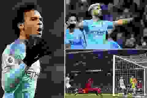 Man City 2-1 Liverpool: Aguero, Sane mang về ba điểm