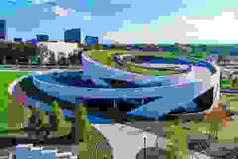 Những công trình kiến trúc ấn tượng được hoàn thành trong năm 2018