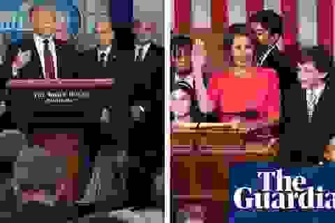 """Hai bức ảnh """"đối nghịch"""" chụp cùng một ngày tại Washington"""