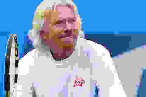 Tỷ phú Richard Branson tiết lộ tập thể dục giúp ông thành công