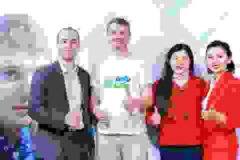 Alexander Zubarev nhà sáng lập sinh trắc vân tay Infolife có mặt tại Việt Nam