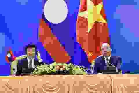 Thủ tướng: Việt Nam - Lào đoàn kết đặc biệt, hợp tác toàn diện