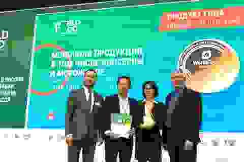 """Sữa chua """"sệt"""" mới lạ và đột phá từ TH giành giải """"Sản phẩm của năm"""" tại Moscow"""