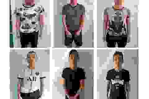 Vụ nhóm thanh niên chém công an: Tạm giữ thêm 6 đối tượng