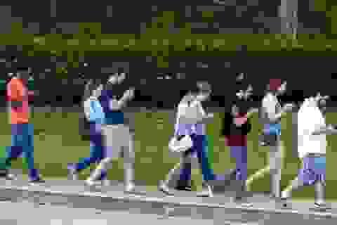 Gặp tai nạn nghiêm trọng vì thói quen vừa đi bộ vừa sử dụng smartphone