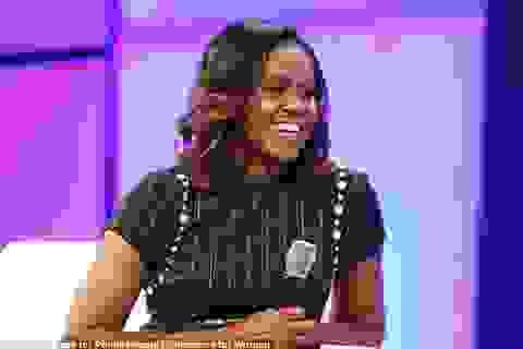 """Bà Obama kể chuyện cùng con gái lên kế hoạch """"trốn"""" khỏi Nhà Trắng"""