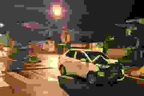 Trung úy công an tử vong sau cú va chạm mạnh với ô tô