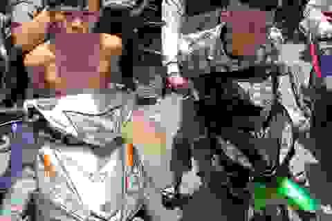 Hình sự đặc nhiệm truy đuổi 2 thanh niên cướp điện thoại