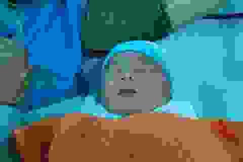 """Quảng Nam: """"Bé bự"""" 5,1kg chào đời an toàn"""