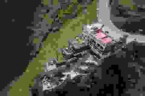 Đang phá dỡ, cải tạo nhà hàng Mã Pì Lèng Panorama