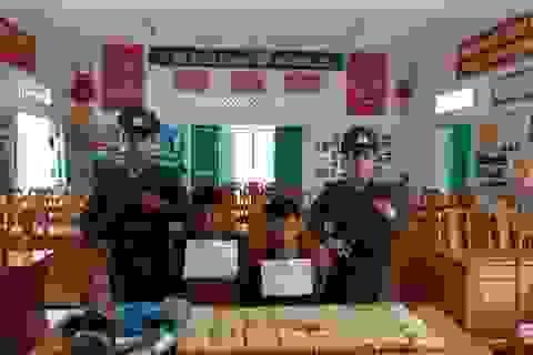 Tóm gọn 2 đối tượng người Lào vận chuyển 100 ngàn viên ma túy vào Việt Nam