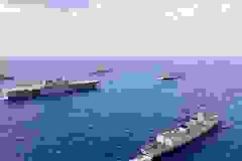 Mỹ, Philippines, Nhật Bản điều hơn 2.000 binh sĩ tập trận ở Biển Đông