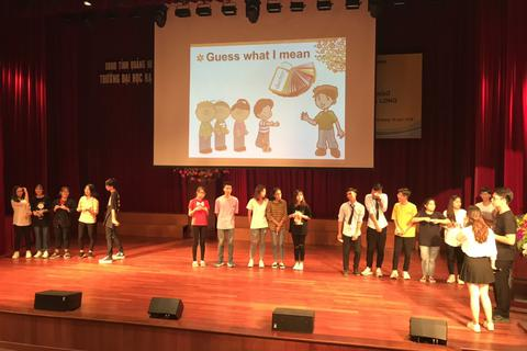 Phát động phong trào học ngoại ngữ trong trường học