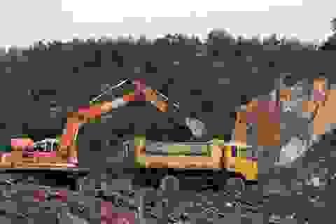 Thanh tra Chính phủ đề nghị Thái Nguyên xử lí dứt điểm vụ phá rừng đào khoáng sản trái phép