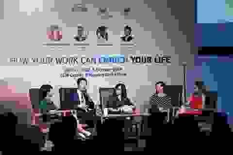 Giới trẻ rủ nhau tham gia Triển lãm giáo dục Vương quốc Anh 2019