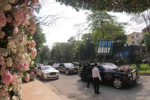 Choáng với mức độ xa hoa trong lễ cưới con của một đại gia bất động sản
