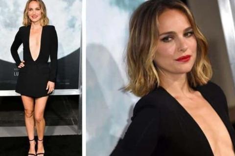Người đẹp Hollywood kiêu sa diện váy đen dự sự kiện