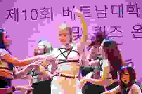 Tưng bừng ngày hội tiếng Hàn Hangeulnal tại Hà Nội