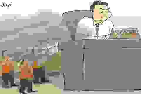 Công dân 5 quận Thủ đô: Hít khói thủy ngân, uống nước váng dầu?