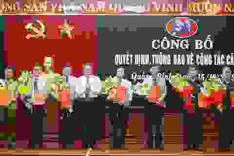 Sở GD-ĐT Quảng Bình có 2 tân Phó Giám đốc