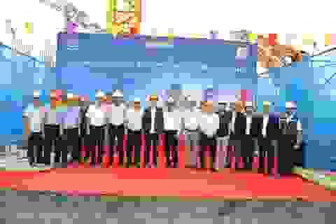 Apec Aqua Park Bắc Giang cất nóc dự án, vượt tiến độ 3 tháng