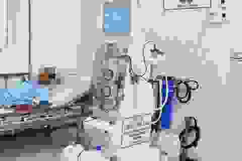 """Bệnh nhân được chạy thận bằng máy """"siêu lọc"""" ngay tại tuyến huyện"""