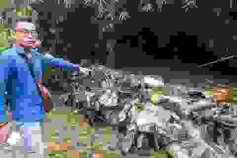 Dấu hiệu hình sự vụ nước sạch nhiễm dầu thải
