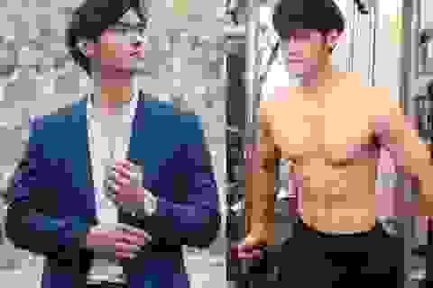 """Nhan sắc """"cực phẩm"""" bạn trai Thái Lan của hot girl Trang Anna"""