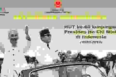 Phát động cuộc thi viết về Chủ tịch Hồ Chí Minh trong chuyến thăm lịch sử tại Indonesia