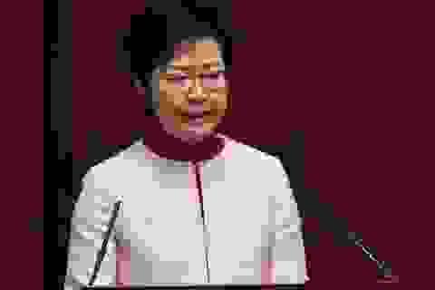 Trung Quốc có thể sắp thay trưởng đặc khu Hong Kong