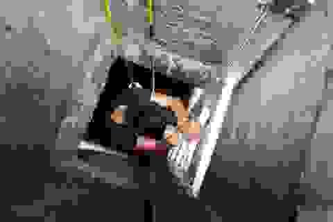 Thau rửa bể ngầm, làm sao cho an toàn?