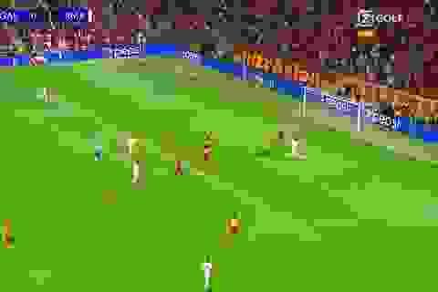 Khó tin với pha bỏ lỡ cơ hội không tưởng của Eden Hazard