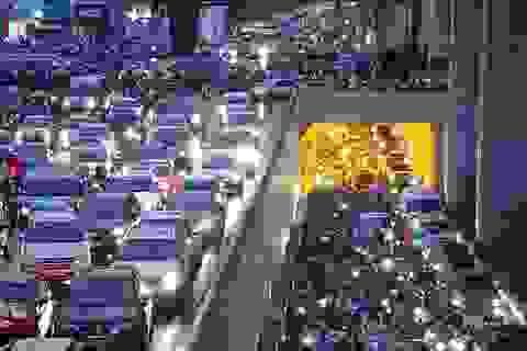 Hà Nội nêu lộ trình cấm xe máy trong nội thành