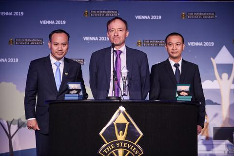 Stevie Awards 2019 vinh danh Tập đoàn TH giải Vàng sản phẩm của năm