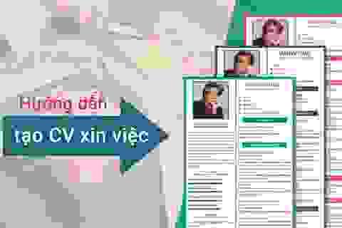 Tạo CV Tiếng Hàn trên Timviec365.vn – Tràn đầy tự tin trước nhà tuyển dụng