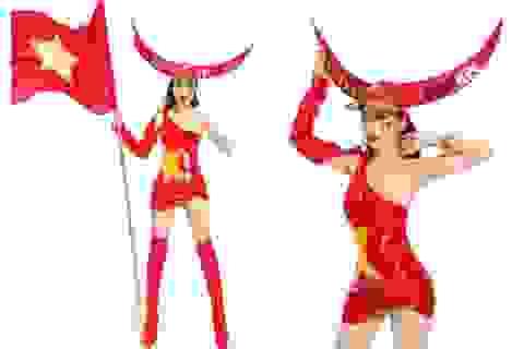 Niềm tự hào bóng đá giúp mỹ nhân Việt lọt Top tại Hoa hậu Du lịch Thế giới