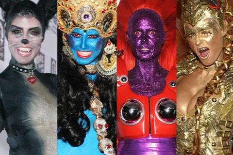 Những màn hóa trang Halloween siêu ấn tượng của của Heidi Klum