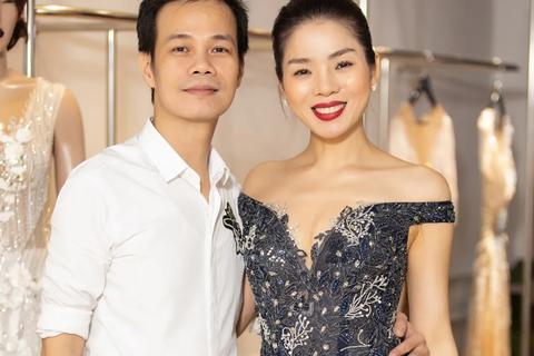 Lệ Quyên rạng rỡ trước show mở màn Tuần lễ thời trang Quốc tế