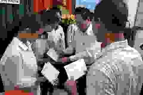 Đà Nẵng: Trao 200 triệu đồng giúp tân sinh viên vượt khó