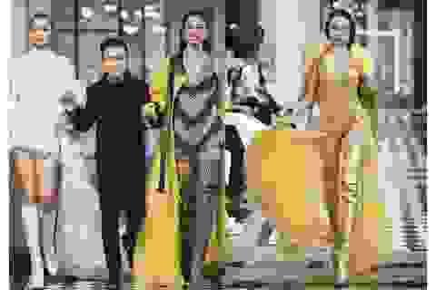Hoa hậu Tiểu Vy, người đẹp Vũ Ngọc Anh catwalk xuất thần giữa Sapa giá lạnh