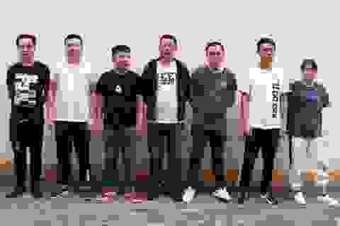 Trao trả Trung Quốc 7 đối tượng sang Lào Cai tổ chức đánh bạc qua mạng