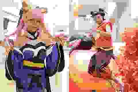 Giới cosplay Hà thành hội tụ mùa Halloween