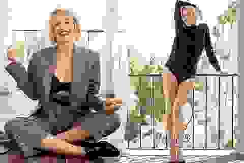 Sửng sốt trước diện mạo trẻ trung, gợi cảm của Sharon Stone