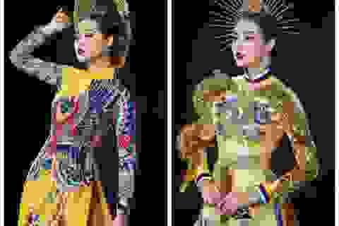 Á hậu Tường San khó chọn trang phục dân tộc khi đi thi quốc tế