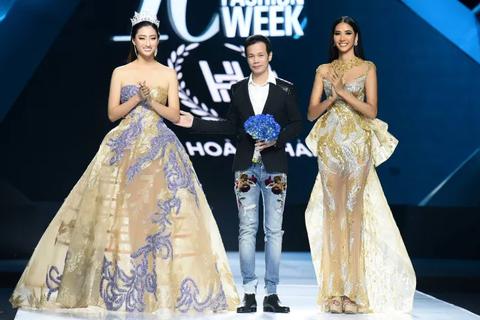 Hoàng Thuỳ mở màn đẳng cấp, Hoa hậu Lương Thuỳ Linh làm vedette tại Tuần lễ Thời trang