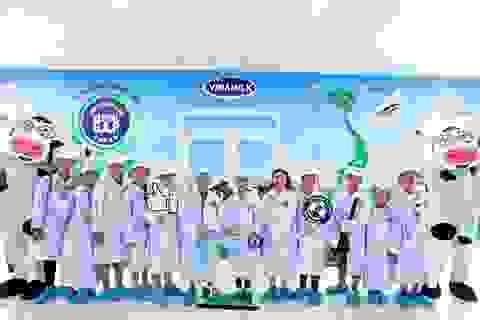 70.000 trẻ em tỉnh Vĩnh Long được thụ hưởng chương trình Sữa học đường