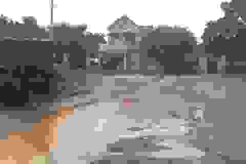 Dân ngao ngán vì tái diễn cảnh đường biến thành ao tại Quảng Bình!